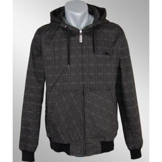 Iriedaily Dog Days Plaid Jacket anthracite