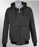 Iriedaily Dog Days Plaid Jacket anthracite