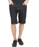 Volcom Solver Denim Shorts Rinse