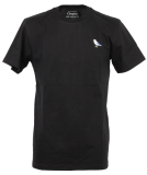 Cleptomanicx Embro Gull T-Shirt Basic Black