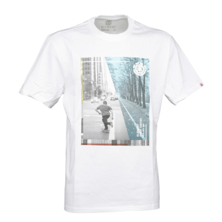 Element Avenue SS T-Shirt Optic White S