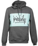 Iriedaily Tagg Hooded Sweater Pullover Anthracite