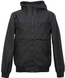 Iriedaily Auf Flag Mel Jacket Water-Resistant Black Mel. S