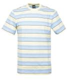 Iriedaily Tony Stripe Tee Relaxed T-Shirt Lemonade S