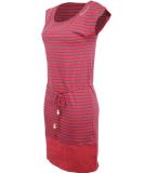 Ragwear Soho Stripes Kleid Chili Red