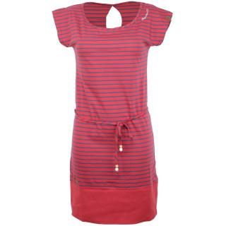 Ragwear Soho Stripes Kleid Chili Red S