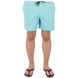 Volcom Lido Trunks Boardshort Badeshort Cyan Blue