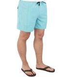 Volcom Lido Trunks Boardshort Badeshort Cyan Blue L