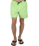 Volcom Lido Trunks Boardshort Badeshort Neon Green