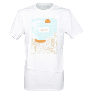 Hurley Aerial T-Shirt White XL