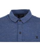 Hurley Dri-Fit Coronado Polo T-Shirt Dark Blue Heather