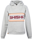 Shisha Logan Hooded Pullover Light Ash