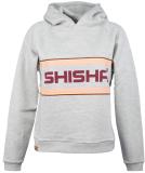 Shisha Logan Hooded Pullover Light Ash M