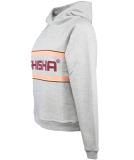 Shisha Logan Hooded Pullover Light Ash L