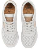 Woden Nora II Mesh Sneaker Schuh Sea Fog Grey