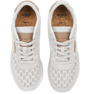 Woden Nora II Mesh Sneaker Schuh Sea Fog Grey 37