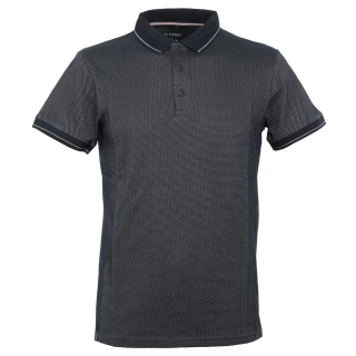 Tiffosi Madrid Man Polo Slim Fit T-Shirt Blue XL