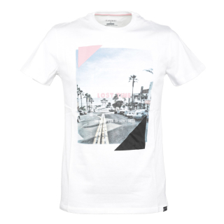 Tiffosi Moma Man SS T-Shirt White