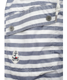 Ragwear Barunka Stripes Jacke Navy S
