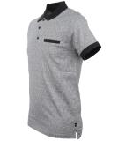 Tiffosi Medellin Polo T-Shirt Black