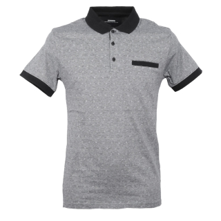 Tiffosi Medellin Polo T-Shirt Black XL