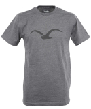 Cleptomanicx Mowe T-Shirt Basic Heather Black Black