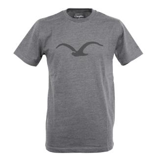 Cleptomanicx Mowe T-Shirt Basic Heather Black Black S