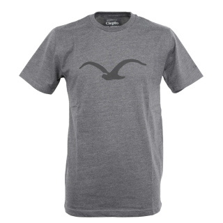 Cleptomanicx Mowe T-Shirt Basic Heather Black Black L