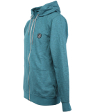 Volcom Litewarp Zip Hoodie Fleece Zipper Navy