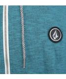 Volcom Litewarp Zip Hoodie Fleece Zipper Navy S