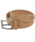 Iriedaily Cork Flag Belt Gürtel Light Brown