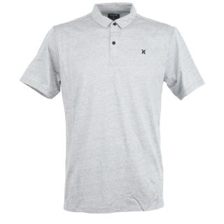 Hurley Dri-Fit Coronado Polo T-Shirt Grey Htr S