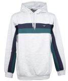 Cleptomanicx Fast Hood Hooded Light Heather Gray