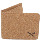 Iriedaily Cork Flag Wallet Light Brown