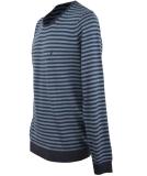 Volcom Uperstand Stripe Swt Strickpullover Sweater Navy XL