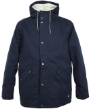Cleptomanicx Larum Winterjacke Dark Navy