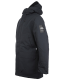 Cleptomanicx Parkistan Parka Jacket Phantom Black