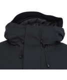 Cleptomanicx Parkistan Parka Jacket Phantom Black S