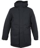 Cleptomanicx Parkistan Parka Jacket Phantom Black L