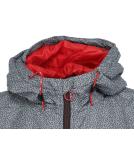 Iriedaily Rastron Jacket Grey Red