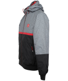 Iriedaily Rastron Jacket Grey Red S