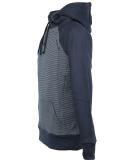 Shisha AX-1 Hooded Pullover Navy Striped Blue