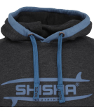 Shisha Borager Hooded Pullover Anthracite Blue S