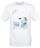 Hurley Dri-Fit Peaking T-Shirt White