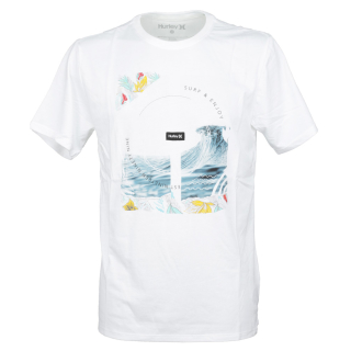 Hurley Dri-Fit Peaking T-Shirt White L