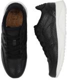 Woden Sophie Snake Sneaker Damen Schuh Black