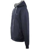 Iriedaily Mini Flag Zip Hood Herren Zipper Navy Grey