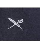 Iriedaily Mini Flag Zip Hood Herren Zipper Navy Grey