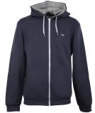 Iriedaily Mini Flag Zip Hood Herren Zipper Navy Grey S