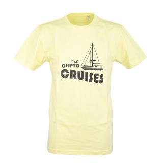 Cleptomanicx Cruiser T-Shirt Elfin Yellow M